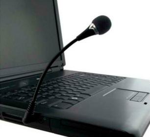 Мини микрофон для ноутбука  3.5 мм