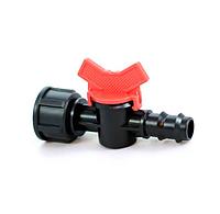 Кран стартовый с внутренней резьбой 3/4 для 20 трубки капельного полива Presto-PS BF 012034 (50 шт в уп.)