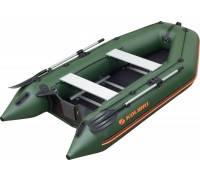 КМ-300D Моторная надувная лодка трехместная килевая Kolibri серия Profi (настил из фанеры)