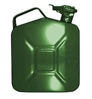 Канистра для ГСМ 5 л вертикальная, зелёная 5в