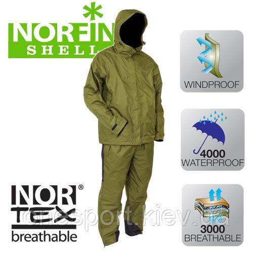 515001-S Костюм всесезонный NORFIN SHELL (4000 мм) + сертификат на 150 грн в подарок (код 216-138346) - Onesport в Киеве