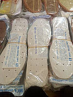 Стелька для обуви белая в дырку 40