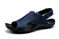 Сандалии кожаные мужские Gekon Quantun, синие, фото 1