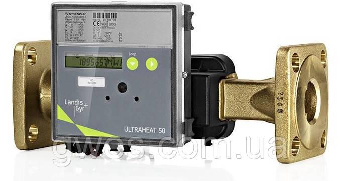 Теплосчетчик ультразвуковой промышленный ULTRAHEAT T550/UH50 Dn25 3,5 м3/час фланцевый