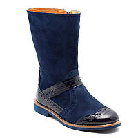 Замшевые сапоги FS Сollection для девочки, демисезонные, размер 28-35, фото 1