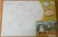 Детский набор для творчества - Роспись на холсте 11635