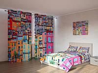 Фотокомплект разноцветные домики
