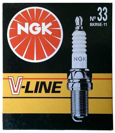 Свечи зажигания NGK V-LINE 33 (BKR5E-11)