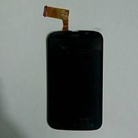Дисплей с сенсорным экраном для телефона HTC DESIRE V T328W Desire черный