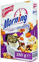 Мюсли с фруктами Goody Morning Fruits Crunchy 350г.