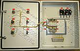 Я5134, Я5136, РУСМ5134, РУСМ5136  ящики управления двумя нереверсивными асинхронными электродвигателями, фото 3