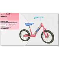 Велобег FR121 стальная рама, катафоты, колеса 12''