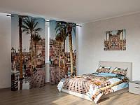 Фотокомплект пальмы перед дворцом