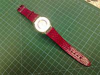 Ремешок из морской змеи для часов Swatch