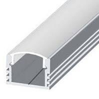 Профиль алюмининиевый ЛП-12 для светодиодной ленты, фото 1