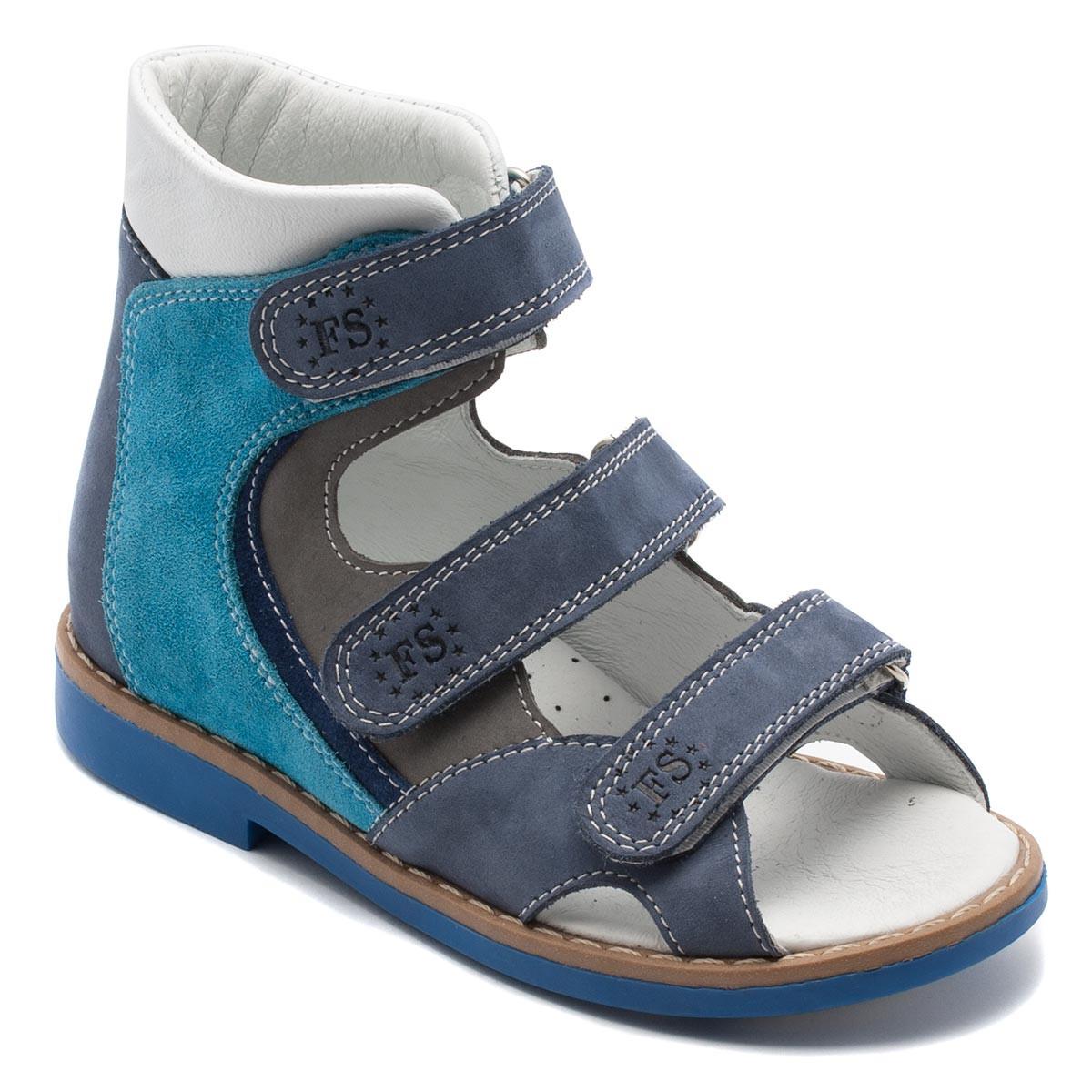Профилактические босоножки FS Сollection для мальчика, синие, размер 20-30