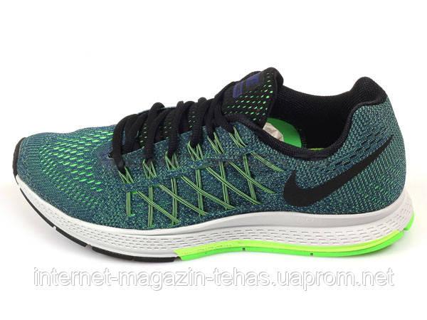 Женские кроссовки Nike Air Zoom Pegasus 32 зеленые - Интернет-магазин