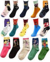 Китайские женские носки от поставщика недорого яркие и красивые  PR-00018