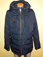 Куртка женская весна синяя 16-21, фото 1