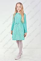 Модное подростковое платье
