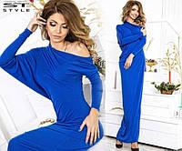 Платье женское в синем цвете