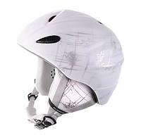 Шлем  Blizzard Stroke white/silver matt 54-58
