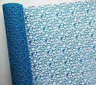 Сетка флористическая Poly net 1 синяя 53см х 5ярдов