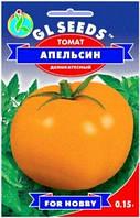 Семена томат Апельсин H=1,3-1,5м. до 400 г.