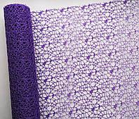 Сетка флористическая Poly net 1 фиолетовая 53см х 5ярдов