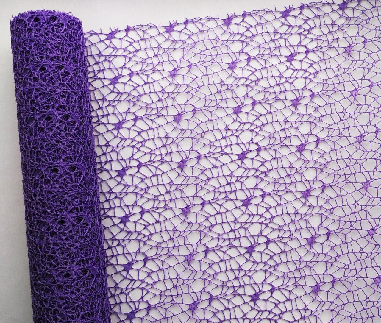Сетка флористическая Poly net 1 фиолетовая 53см х 5ярдов - Крамничка флориста в Киеве