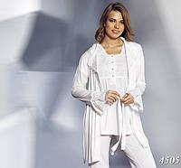 Набор домашний - халат, туника, брюки MARIPOSA (S, M. L, XL, XXL), 4505