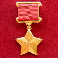 Копия Золотой звезды Герой Советского Союза