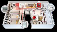 Установка охранной сигнализации. Монтаж. Сигнализация для квартиры и офиса. Охранно-пожарные сигнализации.
