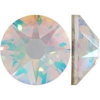 Кристальный |AB Crystal Стразы Swarovski (Размер 10ss; Тип_нанесения Клей E6000)