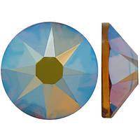 Золото | AB Topaz Стразы Swarovski (Размер 10ss; Тип_нанесения Клей E6000)