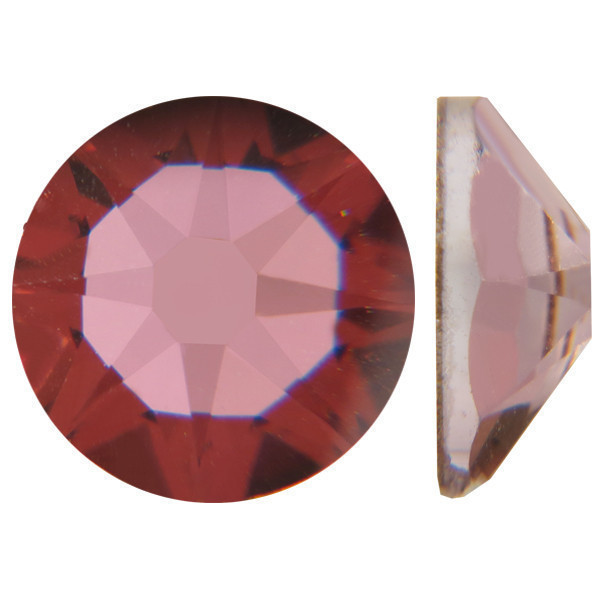 Мутно-розовый | Antique Pink Стразы Swarovski (Размер 10ss; Тип_нанесения Клей E6000)