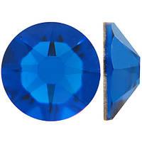 Индиго | Capri Blue Стразы Swarovski (Размер 10ss; Тип_нанесения Клей E6000)