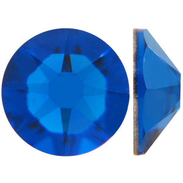 Индиго   Capri Blue Стразы Swarovski (Размер 10ss; Тип_нанесения Клей E6000)