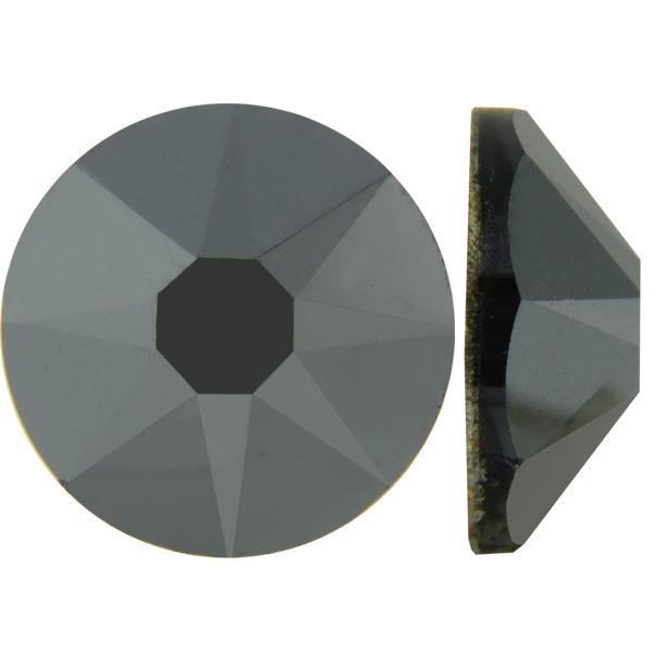 Металевий   Hematite Стрази Swarovski (Розмір 10ss; Тип_нанесения Клей E6000)