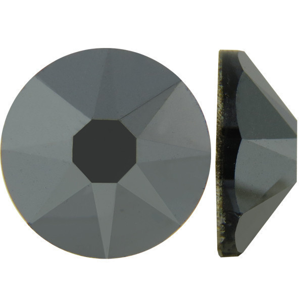 Металлический | Hematite Стразы Swarovski (Размер 10ss; Тип_нанесения Клей E6000)