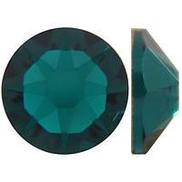 Изумруд | Emerald Стразы Swarovski (Размер 12ss; Тип_нанесения Утюг)