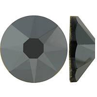 Темный металлик | Jet Hematite Стразы Swarovski (Размер 10ss; Тип_нанесения Клей E6000)