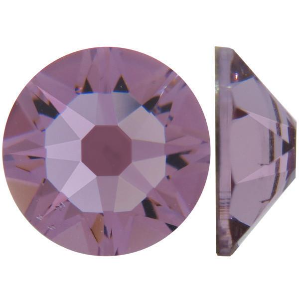 Светлый аметист | Light Amethyst Стразы Swarovski (Размер 10ss; Тип_нанесения Клей E6000)