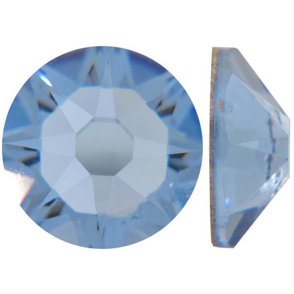 Светлый сапфир | Light Sapphire Стразы Swarovski (Размер 10ss; Тип_нанесения Клей E6000)