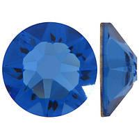 Сапфир | Sapphire Стразы Swarovski (Размер 10ss; Тип_нанесения Клей E6000)