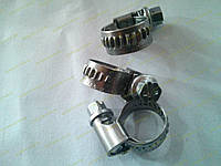 Хомут червячный Norma W2 08-12 мм (нержавеющий), фото 1