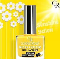 Лак для ногтей «Golden Rose» RICH COLOR     Распродажа!!!, фото 1