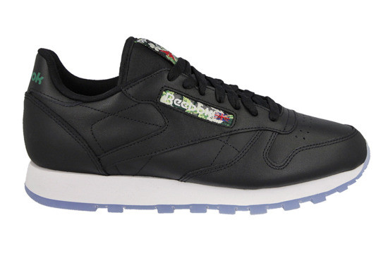 Кроссовки Reebok classic leather floral label оригинал р.45.5