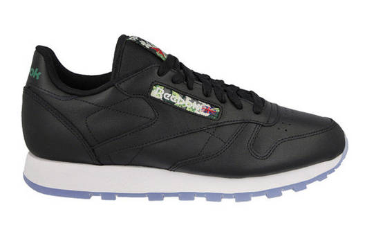 Кроссовки Reebok classic leather floral label оригинал р.45.5, фото 2