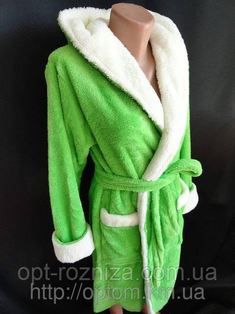 женские халаты на молнии оптом